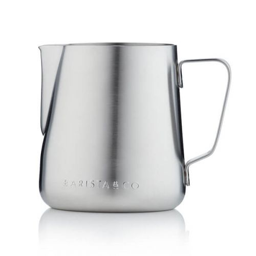 Barista & Co Beautifully Crafted Core Stainless Steel Milk Jug Steel 420ml