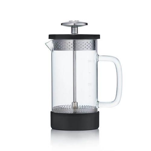 Barista & Co Beautifully Crafted Core Coffee Press Black 3 Cup / 1 Mug