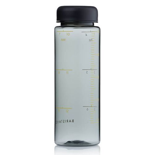 Barista & Co Made Simple Timer Measure Water Bottle Black