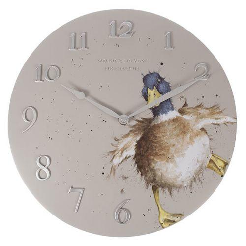 Wrendale Duck Clock