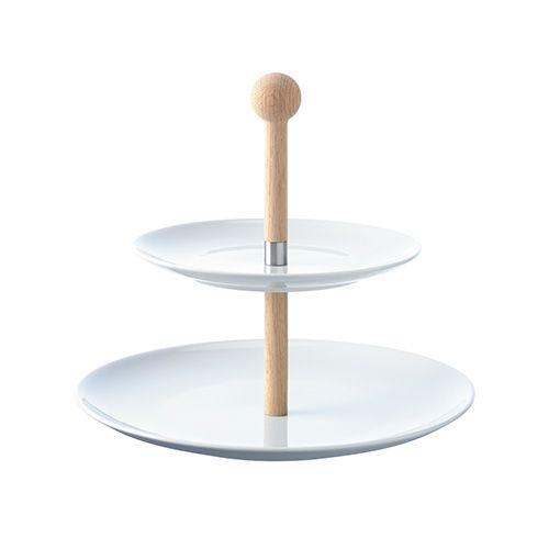 LSA Dine Tiered Cakestand with Oak Stem