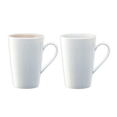LSA Dine Latte Mug 330ml Set Of 2