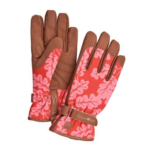 Burgon & Ball Love The Glove Oak Leaf Poppy
