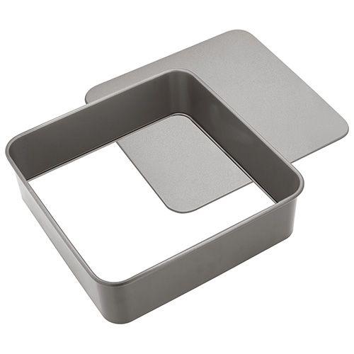 Judge Bakeware 25cm Square Cake Tin Loose Base