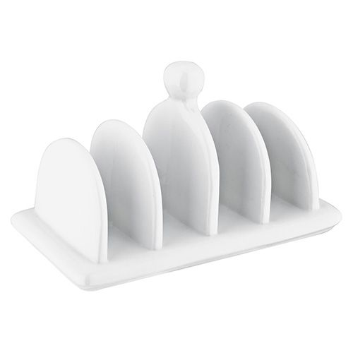 Judge 4 Slot Toast Rack White