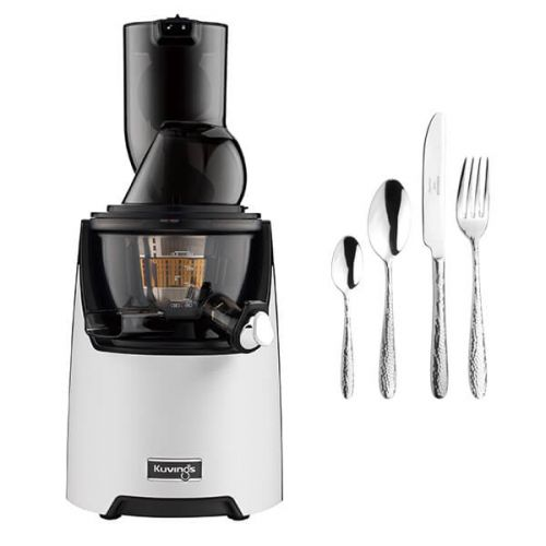 Kuvings EVO820 Evolution Cold Press Juicer White with FREE Gift