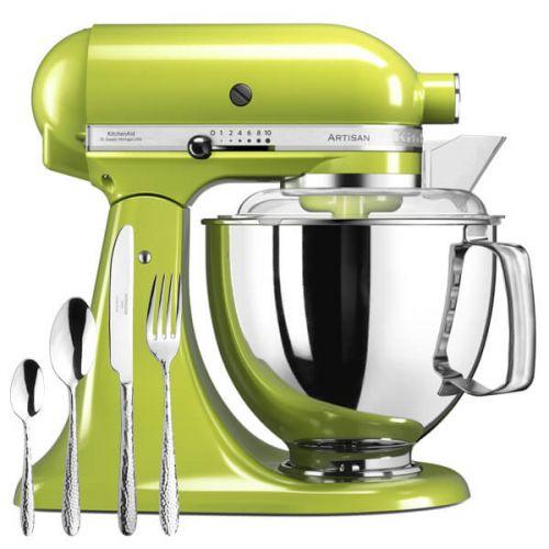 KitchenAid Artisan Mixer 175 Green Apple with FREE Gift