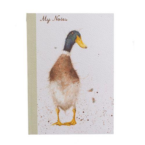 Wrendale Designs A5 Duck Notebook