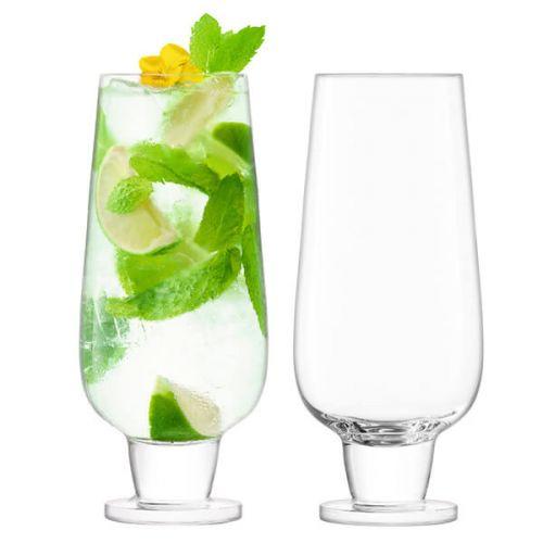 LSA Rum 550ml Mixer Glass Set Of 2