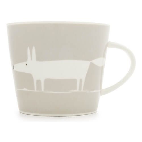 Scion Living Mr Fox Light Grey 350ml Mug
