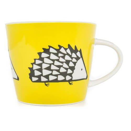 Scion Living Spike Yellow 350ml Mug
