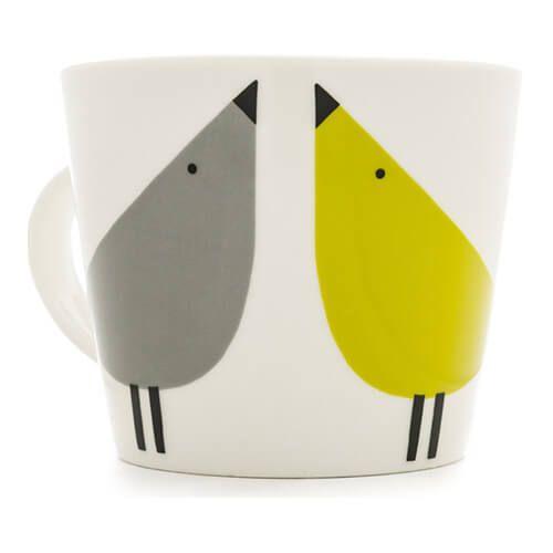 Scion Living Lintu Duck Egg, Sunshine & Slate 350ml Mug