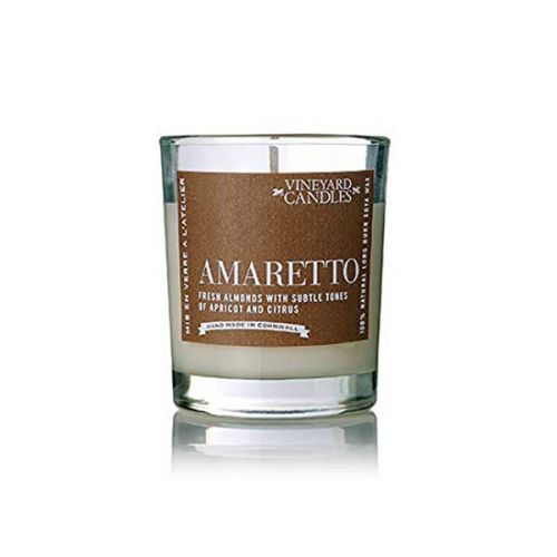 Vineyard Shot Glass Amaretto Candle
