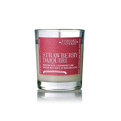 Vineyard Shot Glass Strawberry Daiquiri Candle