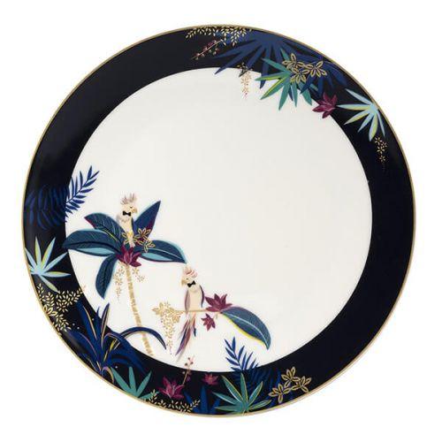 Sara Miller Tahiti Cockatoo Round Platter