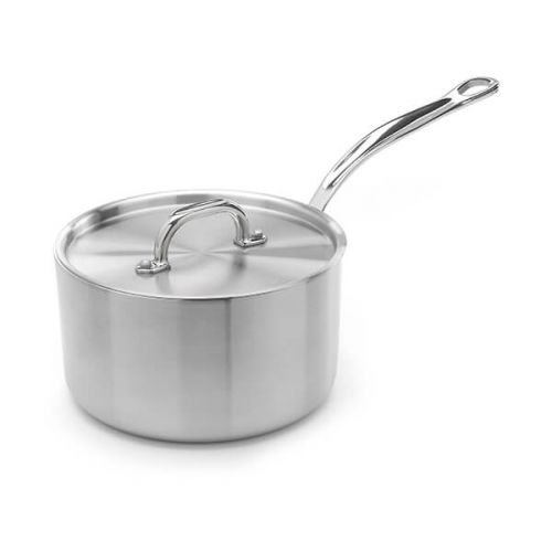 Samuel Groves Classic Stainless Steel Triply 18cm Saucepan with Lid