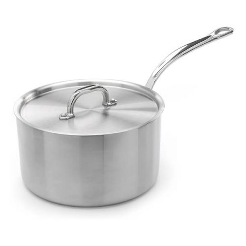 Samuel Groves Classic Stainless Steel Triply 26cm Saucepan with Lid