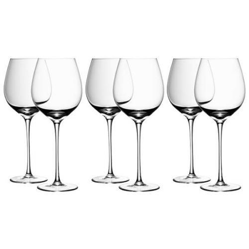 LSA Wine Red Wine 550ml Glass, 6 for 4