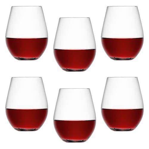 LSA Wine Stemless Red Wine Glass