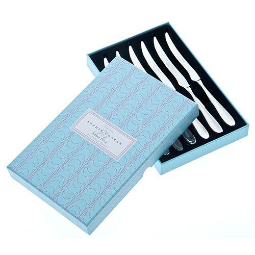 Arthur Price Sophie Conran Rivelin Set Of 6 Steak Knives Gift Box