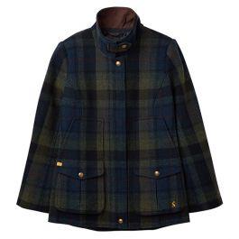 Joules Fieldcoat Green Blue Tweed Jacket Harts Of Stur
