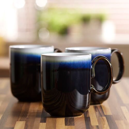 Denby Jet / Imperial Double Dip Mug