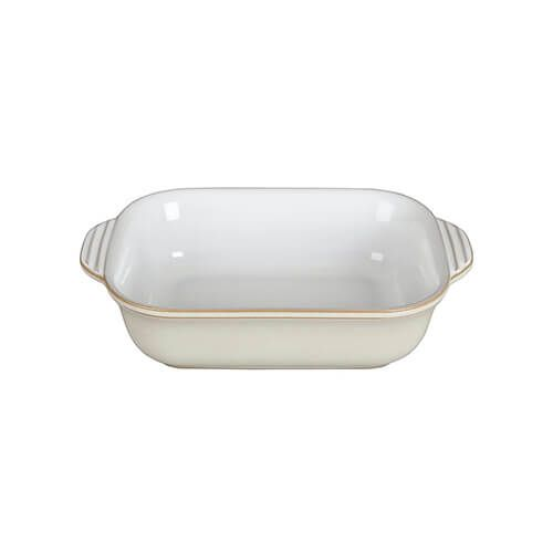 Denby Linen Small Rectangular Dish