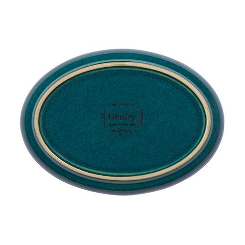 Denby Greenwich Small Oval Tray