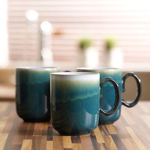 Denby Greenwich Double Dip Mug