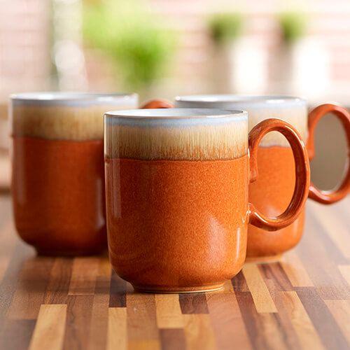 Denby Fire Double Dip Mug