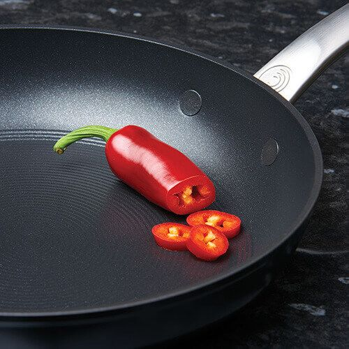 Circulon Ultimum Forged Aluminium With Stainless Steel Fry Pan Twin Pack 25/30cm