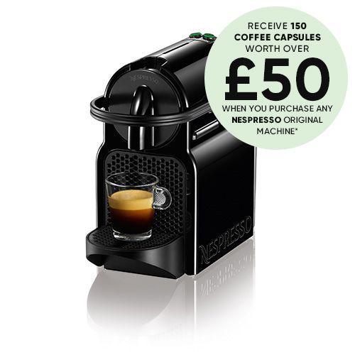 Magimix Nespresso Inissia Black Coffee Machine