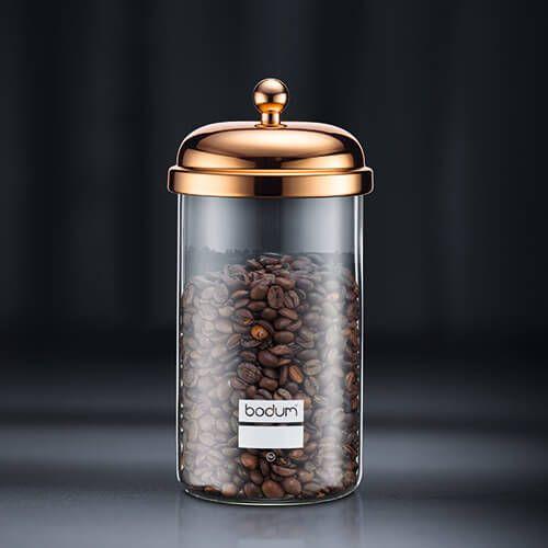 Bodum 1.0L Classic Storage Jar Gold