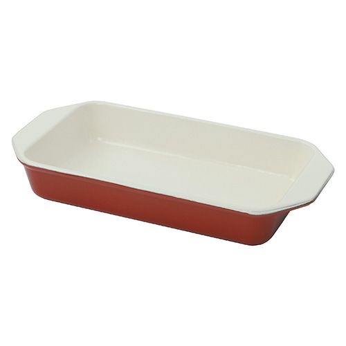 Chasseur Cast Iron Chilli Red Roasting Dish