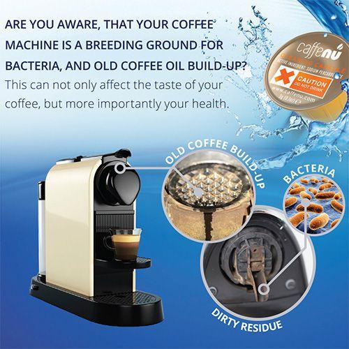 Caffenu Nespresso Machine Cleaning Capsules Pack Of 5