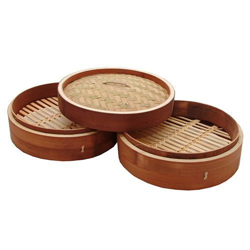 "Typhoon Double Tier 10"" Bamboo Steamer"