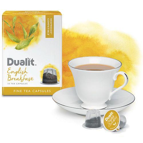 Dualit Fine Tea Nespresso Compatible Capsules English Breakfast Pack Of 10