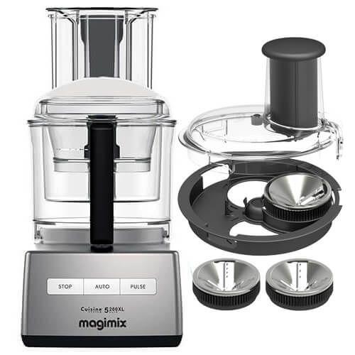 Magimix 5200XL Satin BlenderMix Food Processor FREE Gift Worth £100