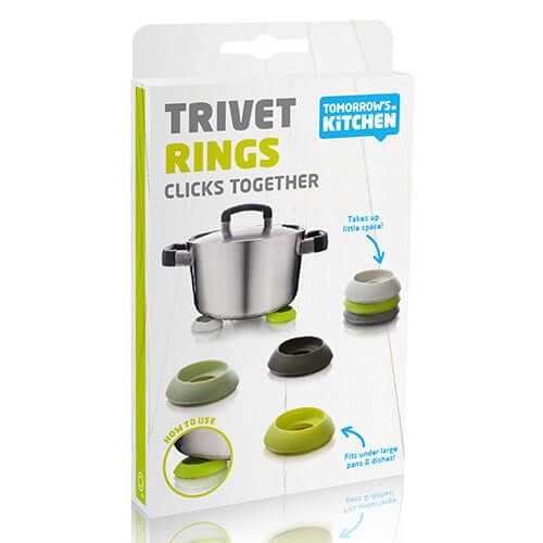 Tomorrow's Kitchen Trivet Rings Set of 6