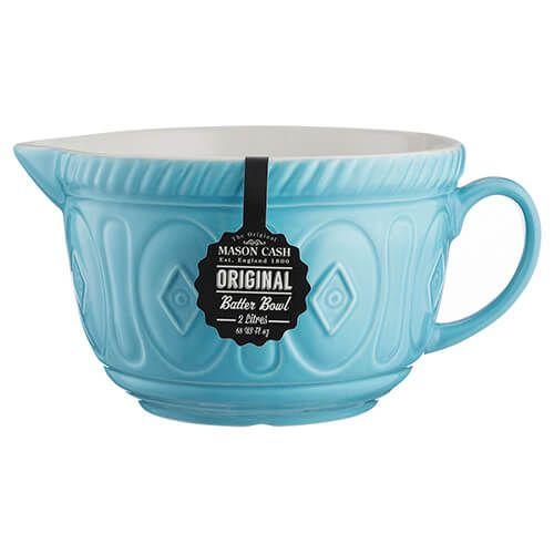 Mason Cash Colour Mix Turquoise Batter Bowl