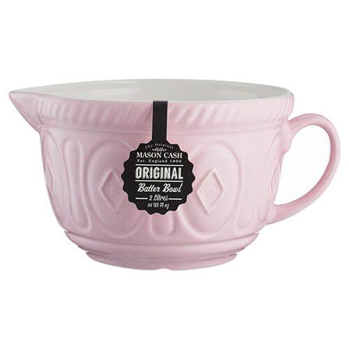 Mason Cash Colour Mix Powder Pink Batter Bowl