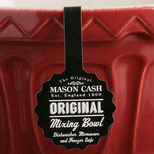 Mason Cash Colour Mix S12 Burgundy Mixing Bowl 29cm