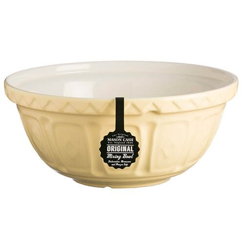 Mason Cash Colour Mix S12 Vanilla Mixing Bowl 29cm