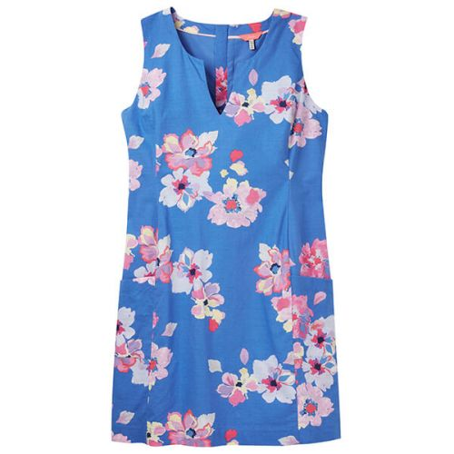 d2ef8a84f37 Joules Elayna Blue Floral Shift Dress