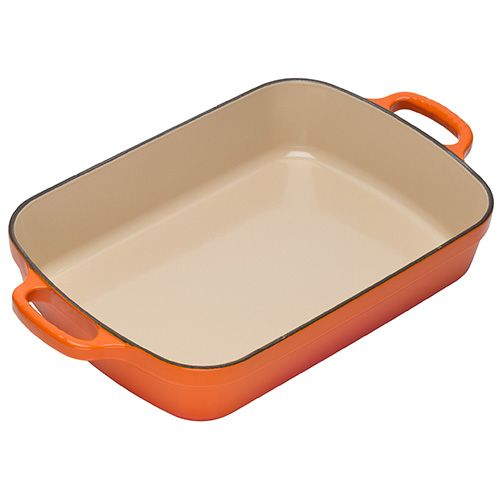 Le Creuset Signature Volcanic Cast Iron 37cm Rectangular Roaster