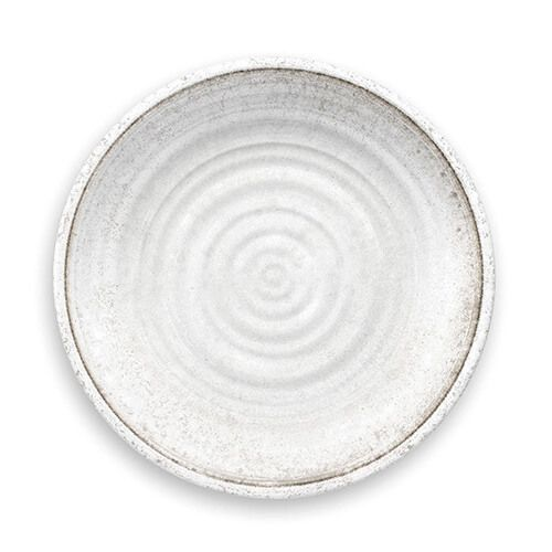 Epicurean Melamine Artisan White Dinner Plate
