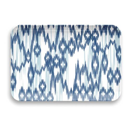 Epicurean Melamine Kyoto Ikat Large Rectangular Tray