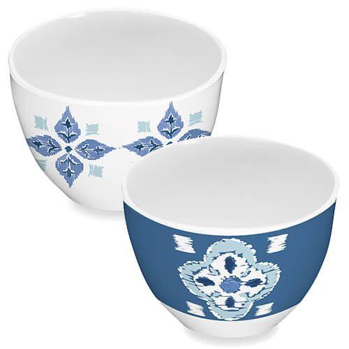 Epicurean Melamine Kyoto Set Of 4 Dipping Bowls
