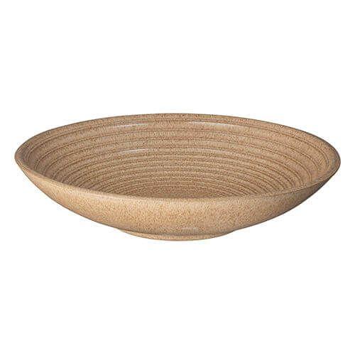 Denby Studio Craft Elm Large Ridged Bowl