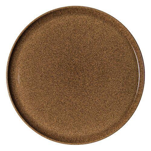 Denby Studio Craft Chestnut Round Platter